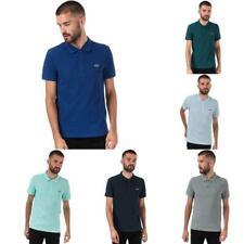 Para hombre Lacoste Calce Ajustado Camisa Polo De Algodón Mangas Cortas Petit en varios colores
