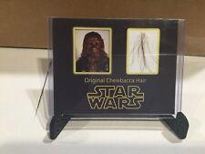Star Wars Movie Prop Chewbacca Hair Strands Screen Used black series Mandalorian