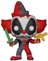 FUNKO POP! MARVEL: Deadpool Playtime - Deadpool Clown [New Toy] Vinyl Figure