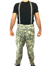 ACU Level 5 Soft Shell Cold Weather Pants, Army Trousers, ECWCS Large Regular