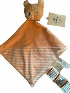 Baby Cloud Island CAT Lovey Security Blanket New With Tags Light Orange