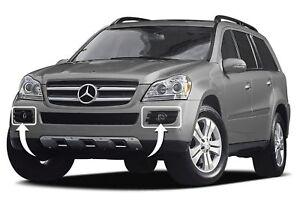 Neuf Véritable Mercedes Benz Gl X164 Set De Pare Choc Avant Gauche et Droite Fog