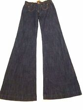 Billabong Junior Womens Size 5 High Tide Wide Leg Fit Blue Jeans New