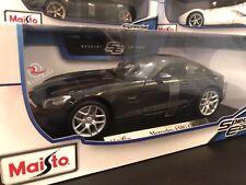 *SALE* Maisto 1:18 Special Edition Diecast Model Car - Mercedes AMG GT (Black)