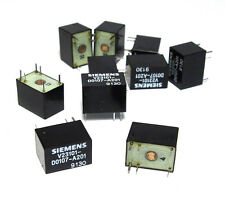 10x Siemens V23101-D0107-A201 Print-Relais, 1x UM, 24VDC, Hohe Empfindlichkeit