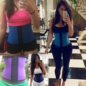 for Women Body Shapewear of Plus Sport latex Trainer Waist Shaper Cincher Corset
