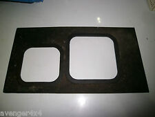 LAND ROVER DISCOVERY 200TDI lt77 GEARBOX SURROUND RUBBER MAT(4)