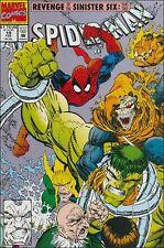 Spiderman #19 Erik Larsen art comic book The Sinister Six Hulk