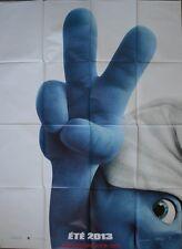 LES SCHTROUMPFS 2 Affiche Cinéma / Movie Poster The Smurfs
