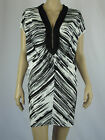 Brave by Wayne Cooper Ladies Cloudy Horizon Dress sizes XSmall Small Black White