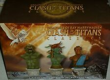 Ray Harryhausen Clash of the Titans bust Medusa Kraken Calibos Xmas SDCC Comicon