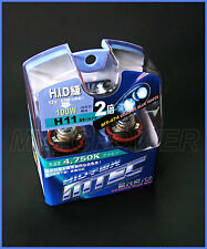 MTEC H11 XENON COSMOS BLUE BULBS ACURA TSX FOG LIGHT