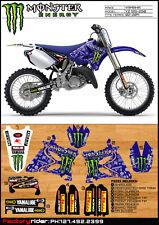 2002-2013 Yamaha YZ 125 250 M Claw Dirt Bike Graphics Deco Decal by Enjoy Mfg