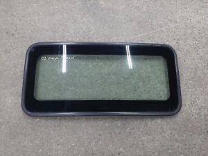1999-2003 Mazda Protege OEM Sunroof/Moonroof Glass ST49