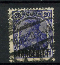 Saar 1920 SG#37, 20pf Violet-Blue Used #A66110