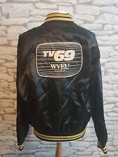 American TV 69 atlanta Cast Crew Varsity black Jacket RARE PROMO PROMOTIONAL 80s