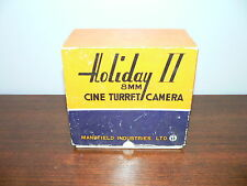 Original Box for Mansfield Holiday II 8mm Cine Turret Movie Camera~Box Only