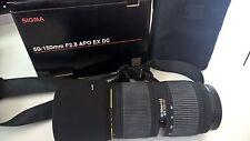 Sigma 50-150mm F2.8 APO EX DC