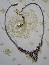 KONPLOTT Kette / Collier Dangerous Liaisons Perlmutt light rosé antique silver