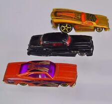 1998 Mattel Impala 2003 Hotwheels Chevy Monte Carlo  2000 SO Fine GM