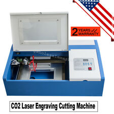 40W CO2 Laser Engraving Cutting Machine Engraver Cutter USB Port 500mm/s