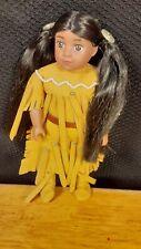 "Mini Doll & ""Meet Kaya"" Excellent Condition. American Girl Kaya 6"""