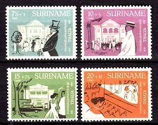 Suriname - 1958 120 years theatre - Mi. 361-64 MH