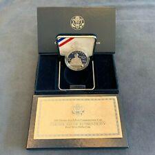 2004 US Mint Thomas Edison Proof Silver Dollar w/COA - Free Shipping USA