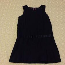Girls Nautica School Uniform Dress Size M 5 Regular Sleeveless