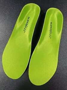 Superfeet Green Insoles Professional-Grade High Arch Orthotic Insole-Size E