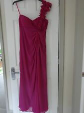 Fuschia Pink Dress by Debut - Evening, cocktail party, prom, ball - UK 12