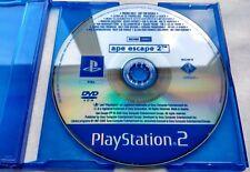 PS2 - Ape Escape 2 (promo disc, PAL full version) PlayStation 2