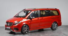 RARE BRAND NEW 1/18 Dealer Mercedes-Benz V-Class V-Klasse Viano Vito (Red) IN US
