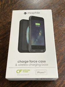 Mophie Charge Force & Wireless Charging Base For Apple iPhone 7/8/SE(2nd) Black