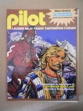 PILOT Rivista Fumetti n°7 1982 Christin Bilal - Ribera Godard   [D9]