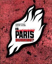IS PARIS BURNING pressbook, Glenn Ford, Leslie Caron, Kirk Douglas -PLUS POSTER-