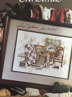 MEMORIES OF CHRISTMAS Paula Vaughan Cross Stitch Chart Leaflet Leisure Arts #904