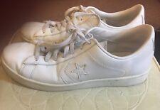 Converse Unisex Mens 11.5 Women's 13 One Star Leather Low Ox Sneaker Shoe, White