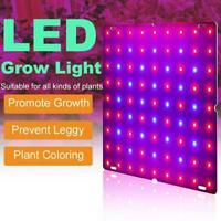 169 Led Grow Light Panel Full Spectrum Lamp For Hydroponics Indoor Plant uk F1L3