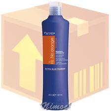 No Orange Shampoo box 12 pcs x 350ml Fanola ® colored with dark shades Antiaranc