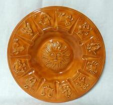 Mid Century Modern California Art Pottery Zodiac Retro Ashtray