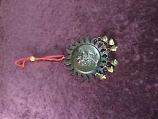 MIX METAL ASHTADHATU COPPER ROUND PLATED HANUMAN WALL AND CAR HANGING ENERGIZED