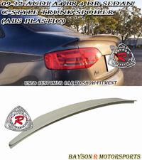 C-Style Rear Trunk Spoiler (ABS) Fits 09-12 Audi A4 / A4 Quattro B8 4dr (Sedan)