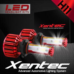 XENTEC LED HID Headlight Conversion kit H11 6000K for 2006-2008 Audi A3
