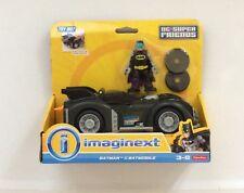 NIB Fisher-Price Imaginext DC Super Friends Batman & Batmobile Bat mobile Car