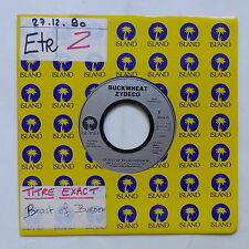 BUCKWHEAT ZYDECO beast of Keith Burden / Where there's smoke there's fire 1343