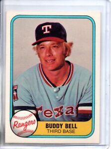 1981 FLEER BUDDY BELL (NM/MT)