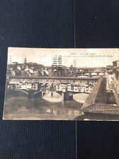 67-4 Postcard Used Stamped Franked Firenze Florence 1921 Gibraltar Frank