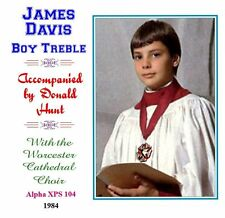 James Davis Boy Soprano/Treble Worcester Cathedral Choir