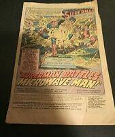ACTION COMICS #488 SUPERMAN BATTLES MICROWAVE MAN!! 1978 Reader
